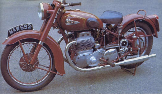 Ariel Square Four (1952) Price, Specs, Review, Top speed, Wikipedia, Color
