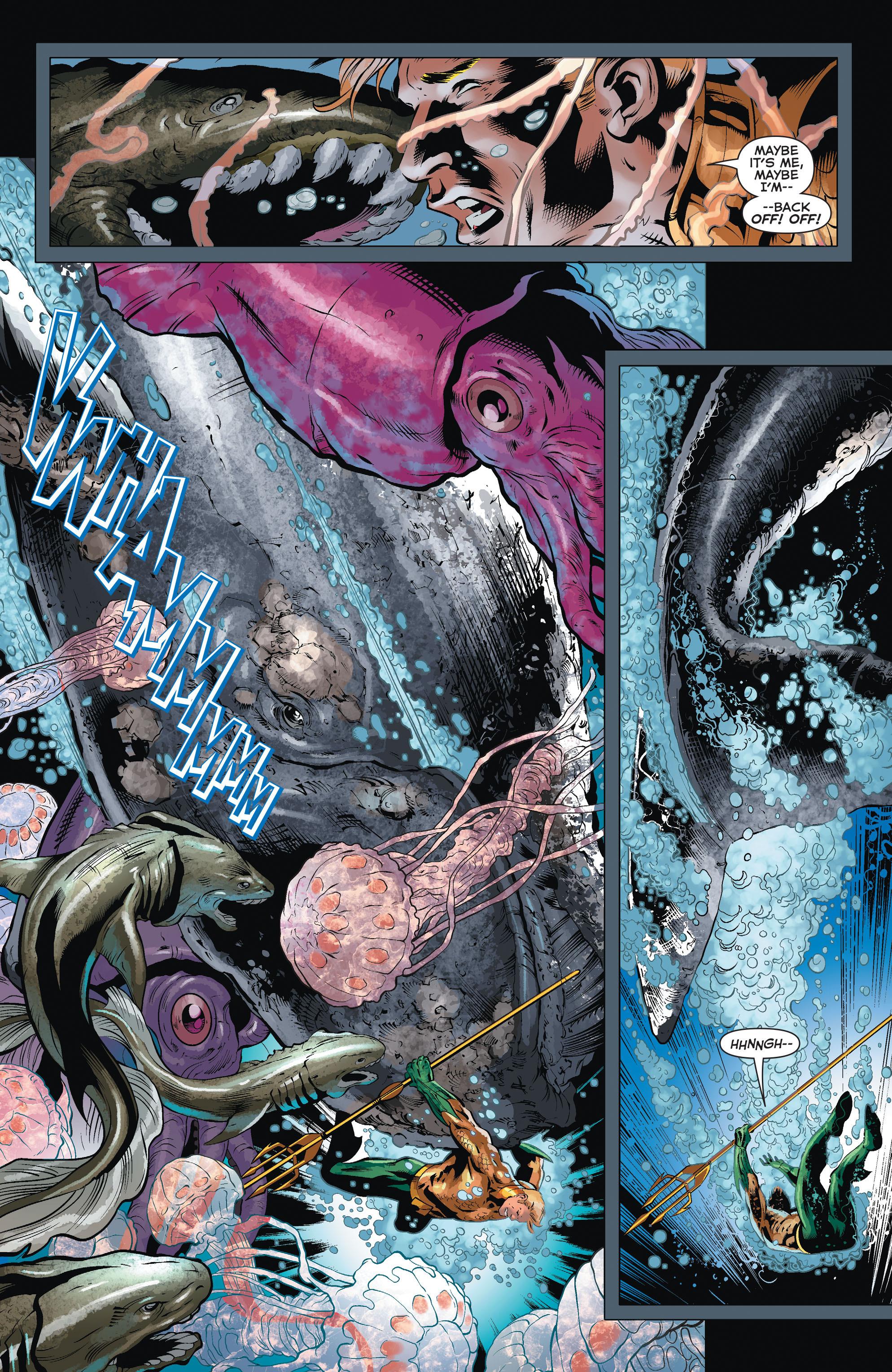 Read online Aquaman (2011) comic -  Issue #32 - 19
