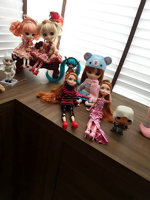 bonecas Pullip, Ever After High, Nendoroid e Funko Pop