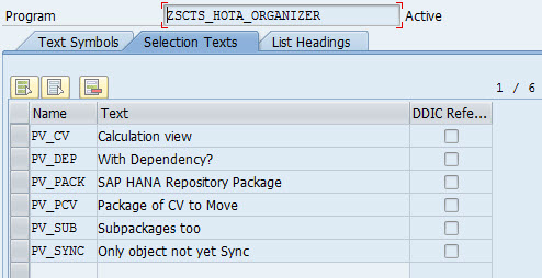 How to transport Calculation views with HTA with all