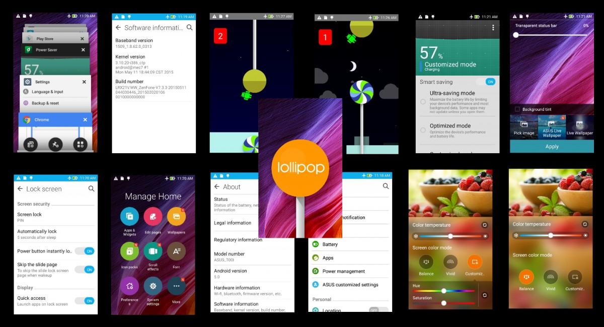 Cara Upgrade Asus Zenfone 4S Ke Lollipop 50 A450CG