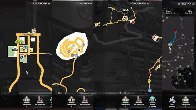 ets 2 google maps navigation for promods v1.8 screenshots 3