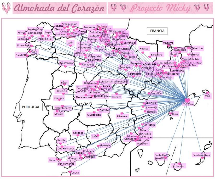 Con las Manos en la Aguja: COSTURAÑO 2.017: FEBRERO - La Almohada ...
