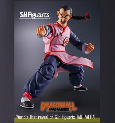 Tao Pai Pai se une a la linea S.H.Figuarts de Dragon Ball - Tamashii Nations