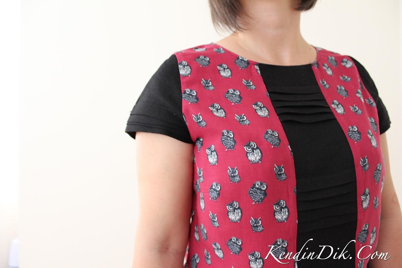 baykuş desenli giysiler