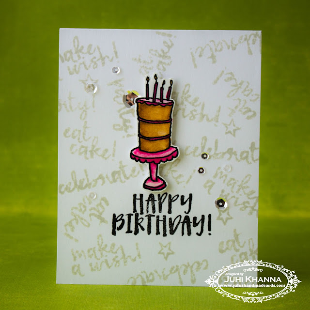 Clean and Simple Birthday Card with #concordand9th stamps