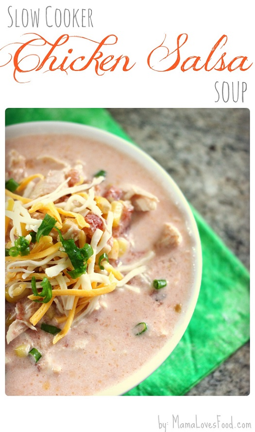 Slow Cooker Chicken Salsa Soup Recipe