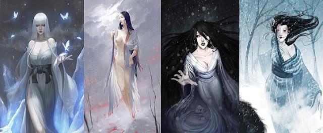 Yuki Onna - Japon Efsanevi Yaratığı
