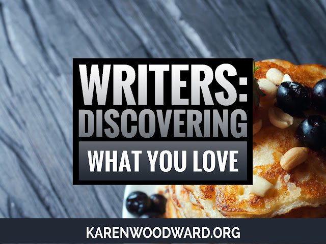 Writers: Discover What You Love