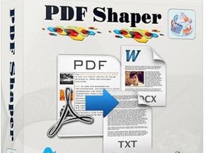 برنامج تعديل وتحويل بى دى اف Pdf Shaper احدث اصدار فولدر برامج