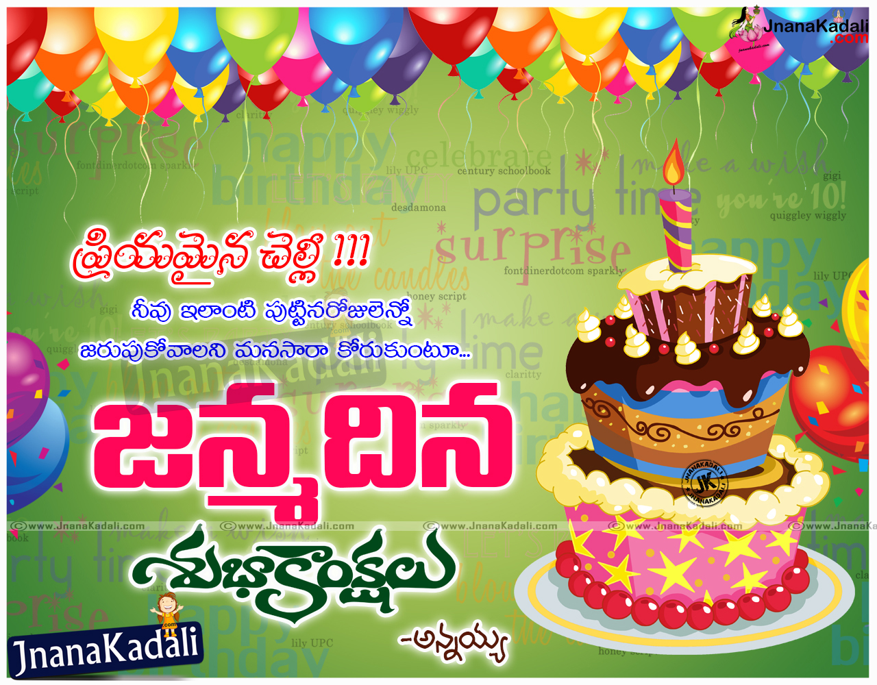 telugu excellent good birthday quotes for best friends