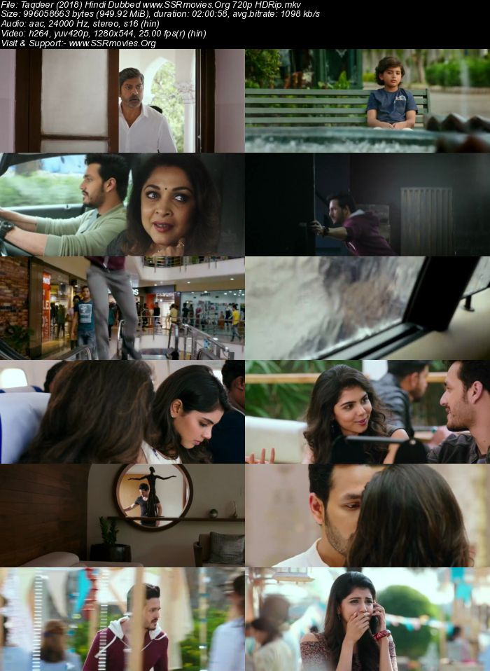 Taqdeer (2018) Hindi Dubbed 720p HDRip