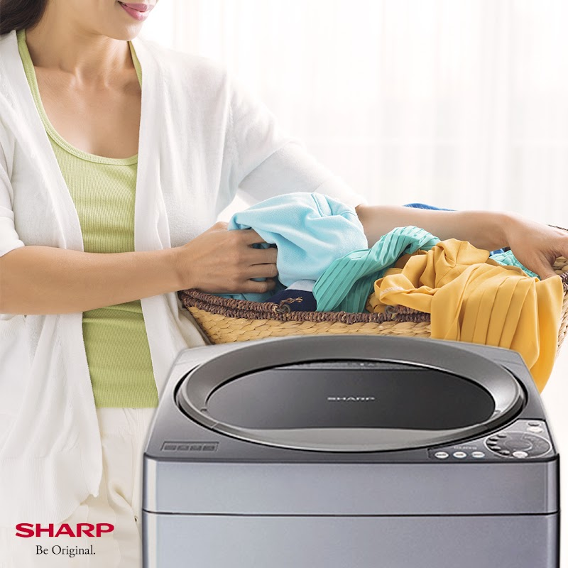The Sharp Fully Auto Washing Machine:  Always ready for any heavy laundry work