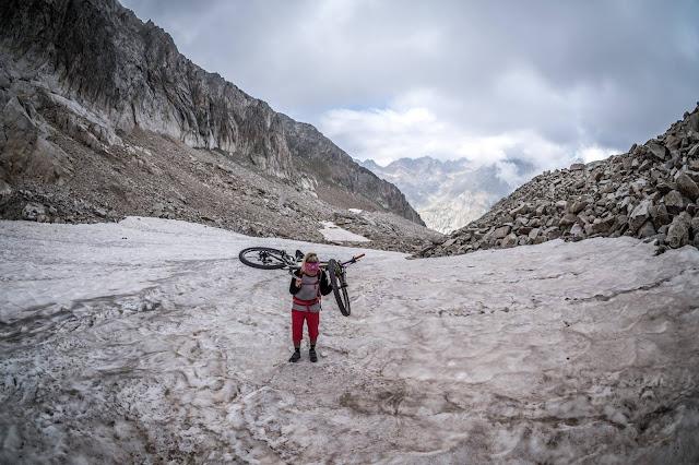 MTB - Tete sud des Bresses 2820 m.ü.A. Westalpen Mountainbike Tour Sant'Anna Valdieri