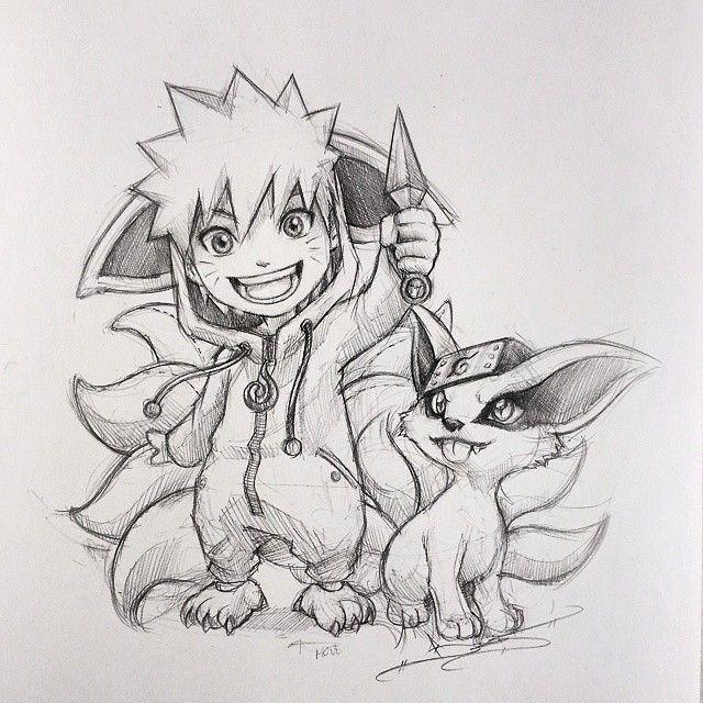 Hình ảnh chibi Naruto, ảnh Naruto chibi siêu dễ thương