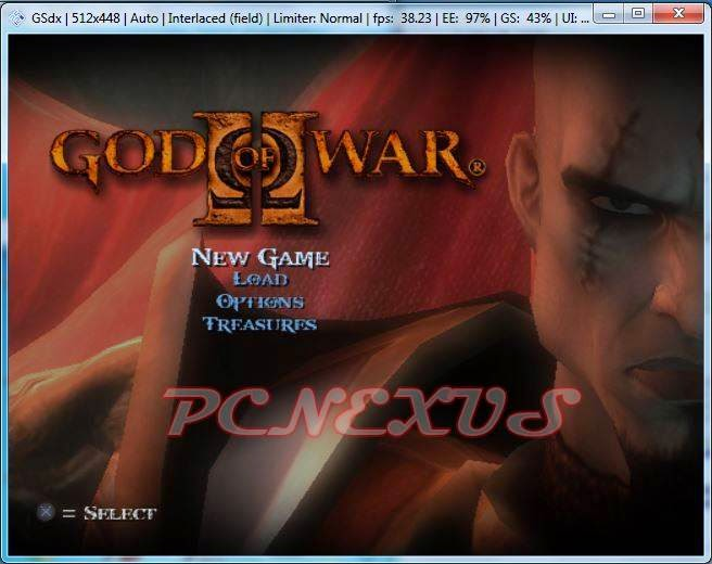 god of war 2 pcsx2