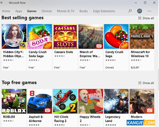 Download Game di Microsoft Store Gratis