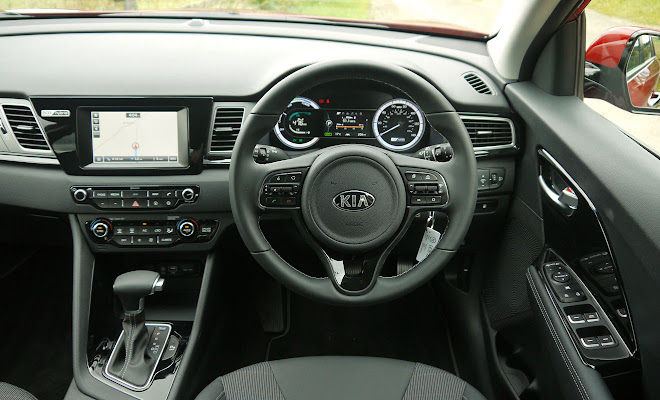 Kia Niro cockpit view