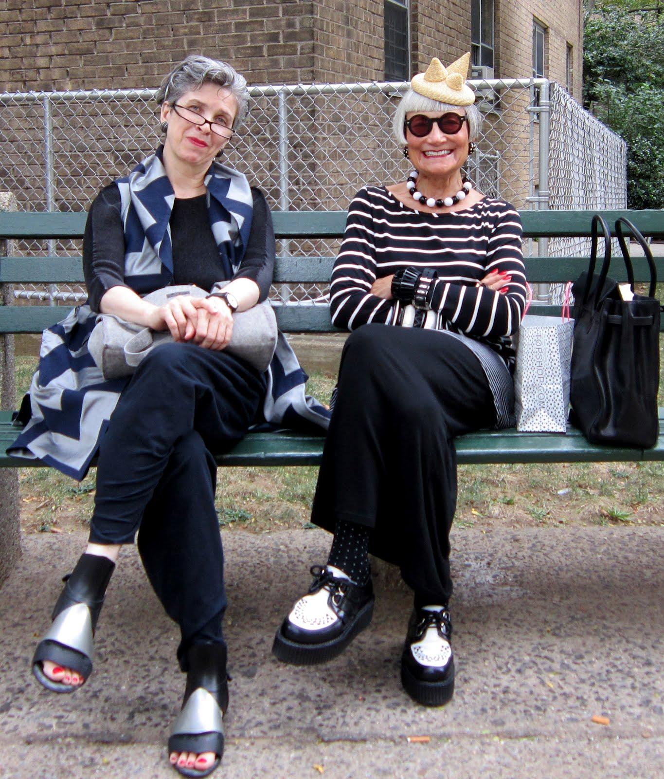Idiosyncratic Fashionistas Dressed To Kill Behind The: Idiosyncratic Fashionistas: Silver Foxes 2012 (The