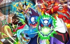 Chiến Binh Rockman  Mega Man Star Force