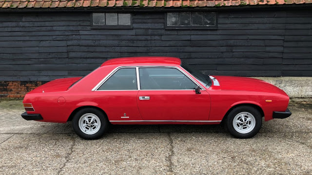 Fiat 130 Coupe 1970s Italian classic car