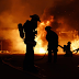 Api Masih Menyala di Pabrik Payung Depok yang Terbakar