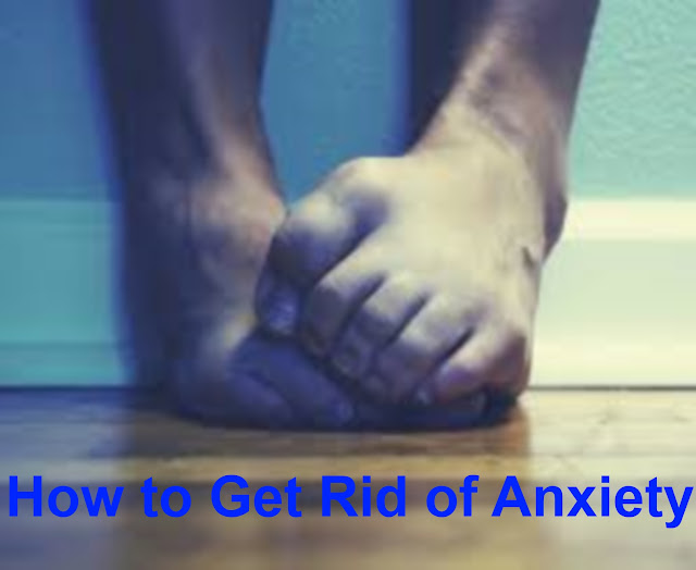 how to get rid of anxiety at night