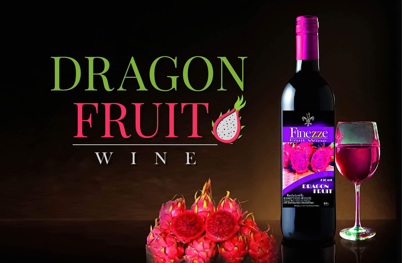 dragon fruit wine - finezze