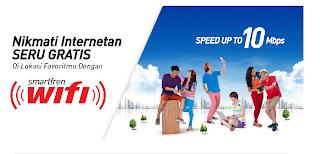 Internet Gratisan dengan Smartfren Wifi
