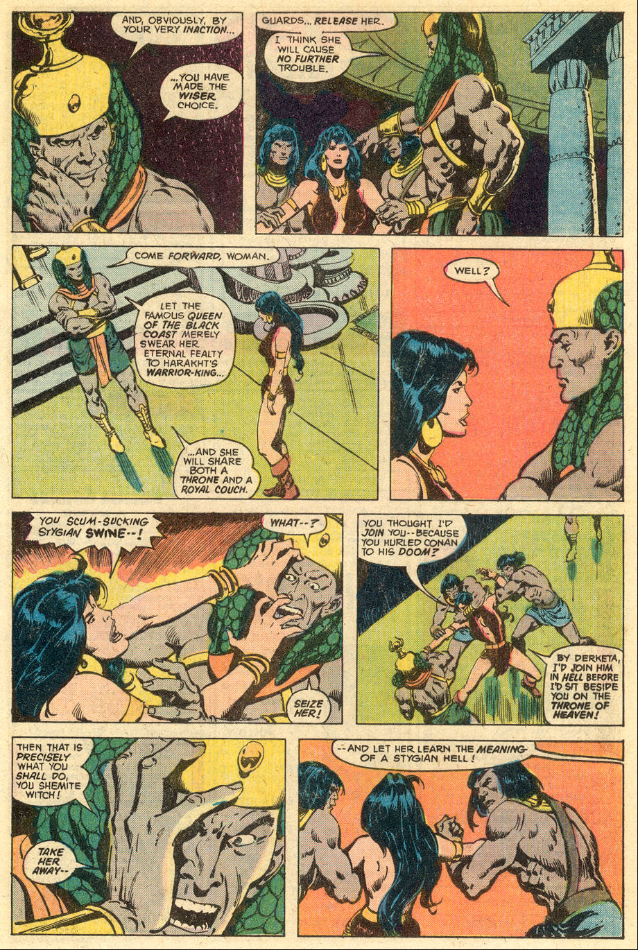 Conan the Barbarian (1970) Issue #77 #89 - English 6