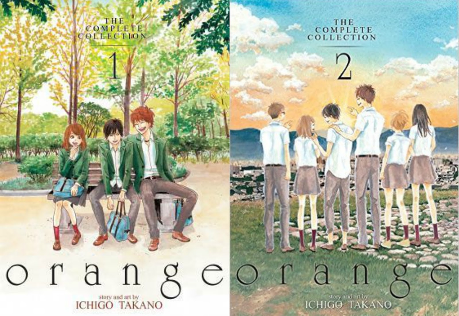 Orange: The Complete Collection book covers
