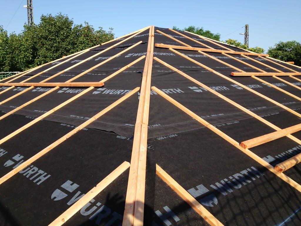 hum 39 s baublog tag 63 unterspannbahn dachkasten und vorbereitungen f rs richtfest. Black Bedroom Furniture Sets. Home Design Ideas