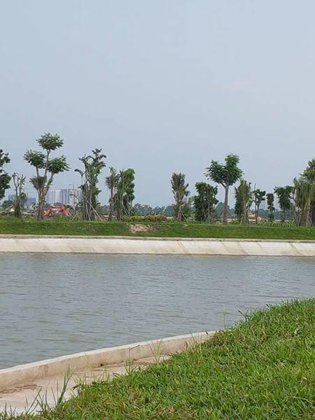 Hồ điều hòa chung cư Thanh Hà