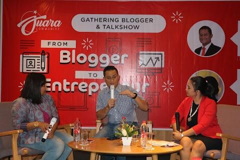 Kunci sukses menjadi blogger dan entrepreneur