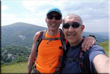 Ipergorta mendiaren gailurra 1.235 m. - 2018ko ekainaren 30an
