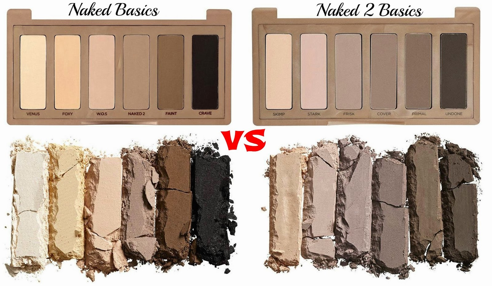 Naked Basics VS Naked Basics 2
