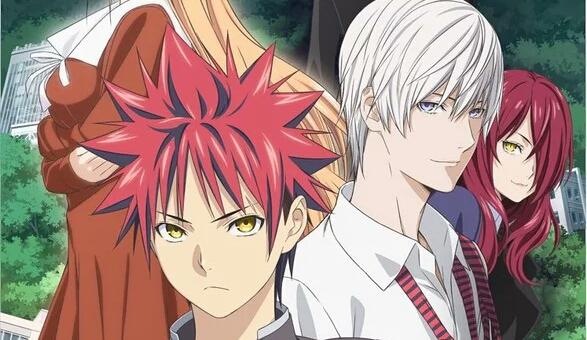 Food Wars! Shokugeki no Soma Anime Third Season Gets Key Visual.