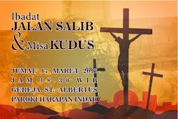 Ibadat Jalan Salib 17 Maret 2017