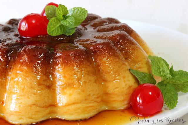Pastel de queso crema al microondas. Julia y sus recetas