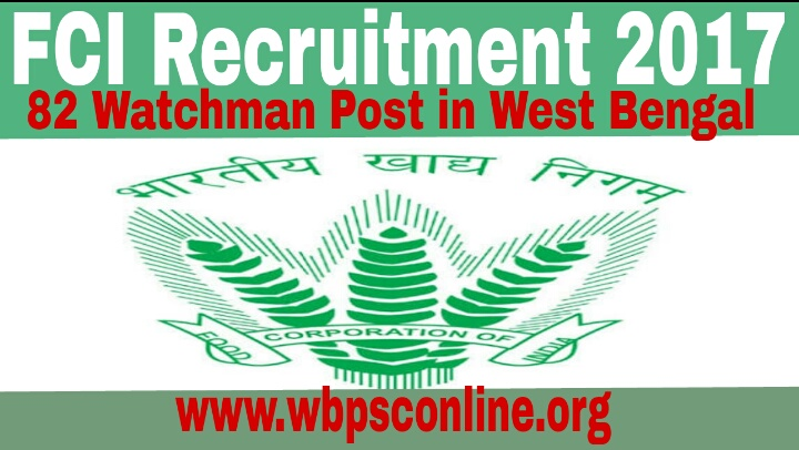 West Bengal Food Corporation Recruitment  Apply Online