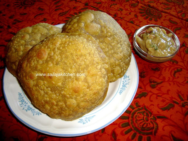 images of Avocado Poori Recipe