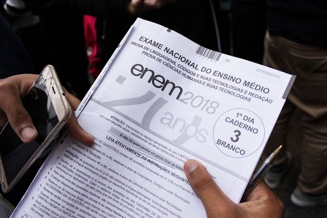 Paraíba registra 174 mil candidatos inscritos no Enem 2019