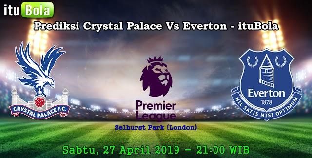 Prediksi Crystal Palace Vs Everton - ituBola
