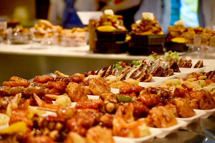 Myeong-dong food