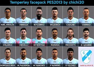 Facepack Temperley 2016 Liga Argentina Pes 2013