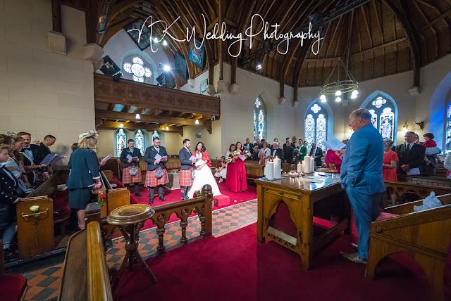 Luss Parish Church Wedding Photography