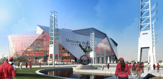 Mercedes dará nombre al nuevo estadio de los Falcons