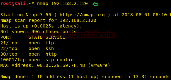 Hack the 21LTR: Scene 1 VM (Boot to Root)