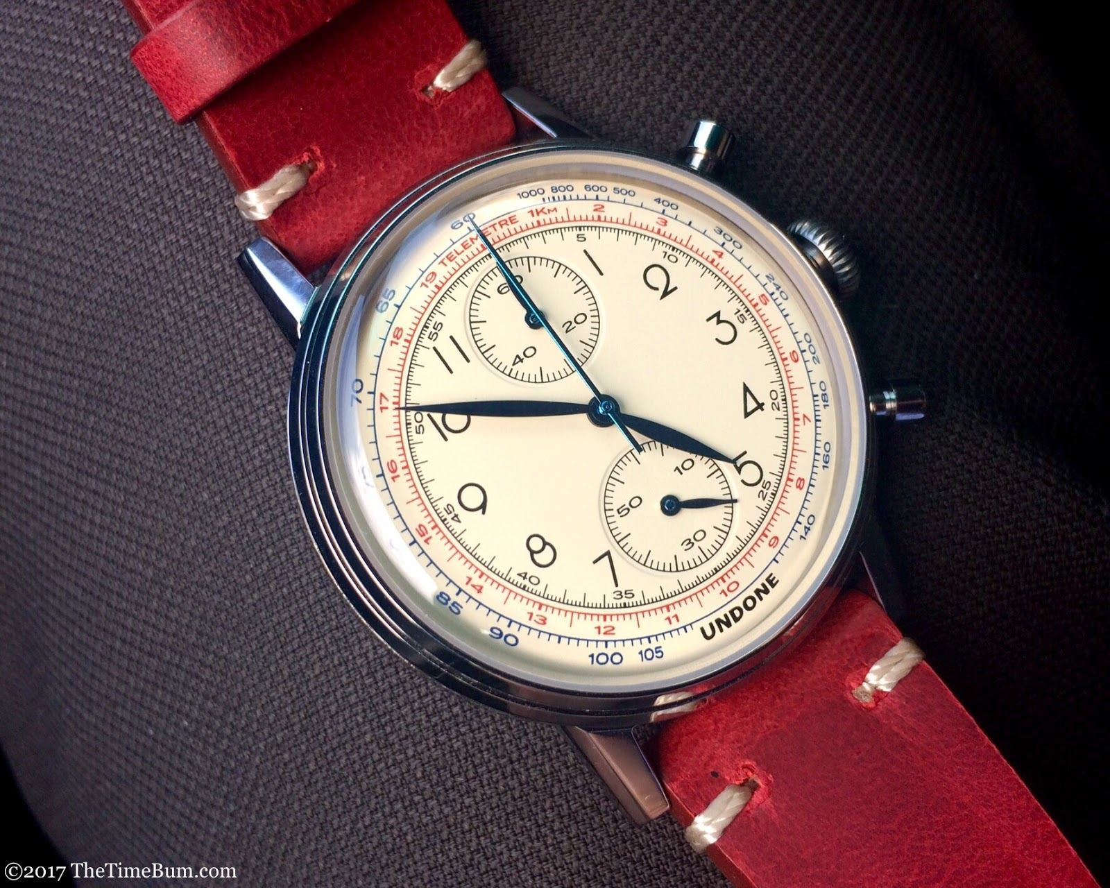 Undone Killy Urban Chronograph  red