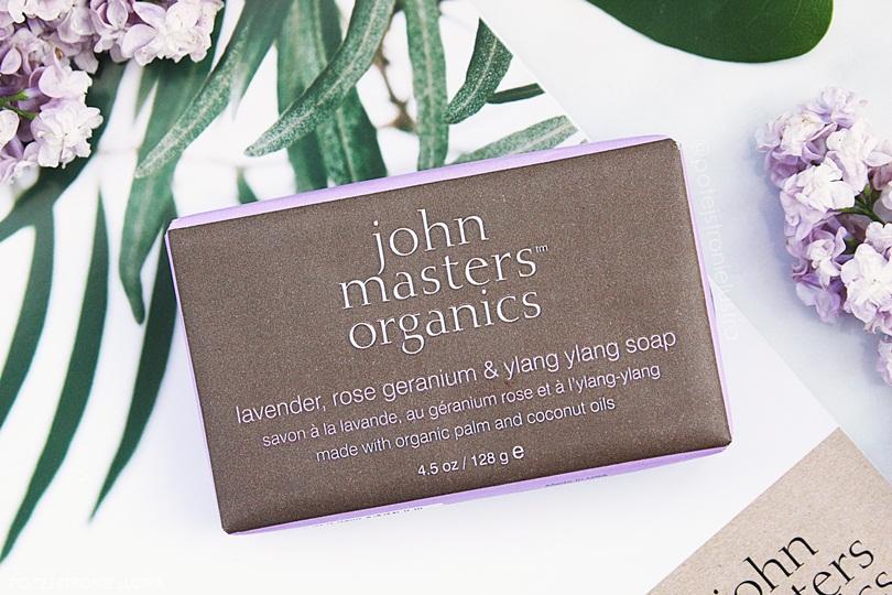 mydło john masters organics